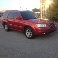 2006 Subaru Forester X=AWD,AUTO,safety e/t+24month warranty incl