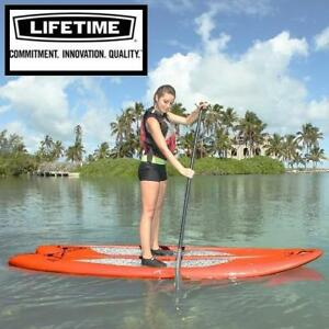 "NEW LIFETIME 98"" SUP PADDLEBOARD 90212 173067511 STAND UP PADDLE BOARD ORANGE"