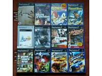Bundle of 12 PS2 Games.
