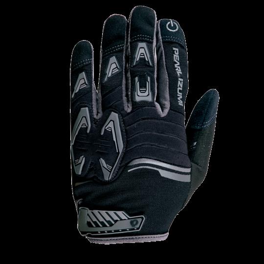 Pearl Izumi Men's Mountain Bike Glove - Black and Gray - Sma