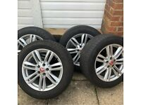 Jaguar Alloy Wheels (tyres included)