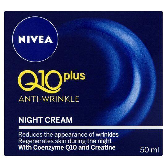 NIVEA Q10 ANTI-WRINKLE NIGHT CREAM (Q10 PLUS) 50ML