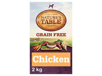 Kohinoor Basmati Rice 10Kg/Nature's Table Chicken Grain Free Adult Dry Dog Food