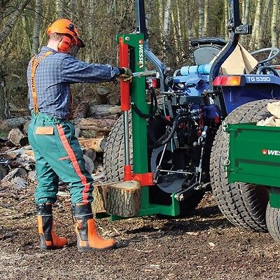 Hydraulic wessex log splitter 10 ton LS-100 tractor mounted compact wood