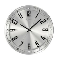 *BRAND NEW* Bulova Silhouette Contemporary Wall Clock C4646