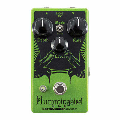 Earthquaker Devices Hummingbird V4 Repeat Percussions Tremolo Effects Pedal, 3 M