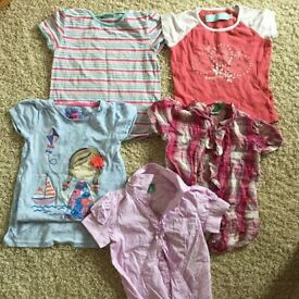 a bundle of girls' clothes age 3 - 6