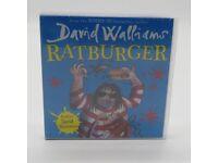 David Walliams Ratburger Audiobook on CD