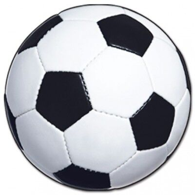 Soccer Ball Paper Cutout 13.5 Inch Birthday Party Decorations](Soccer Ball Decorations)
