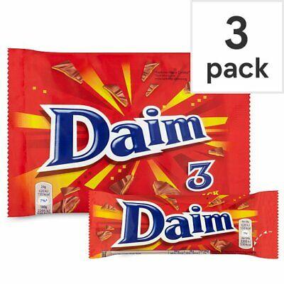 Daim Chocolate Bars 3 Pack 84g