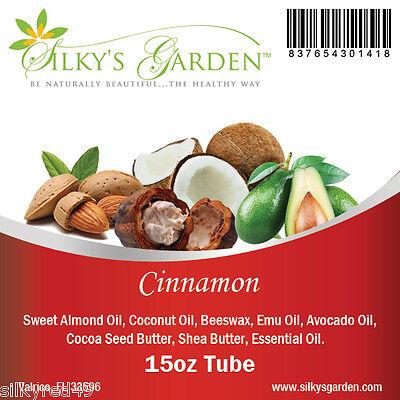 Shea Butter & Emu Oil Lip Balm - Cinnamon