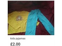 New kids deagostini farm pyjamas