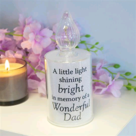 Battery Operated Memorial Candle