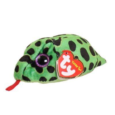 Ty Beanie Boos Teeny Tys 4  Garter Snake Stackable Stuffed Animal Plush Mwmts
