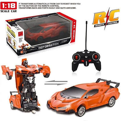 Toys For Boys 4 5 6 7 8 9 11 12 Year Old Age Kids RC Racing Car Robot Bday Gift
