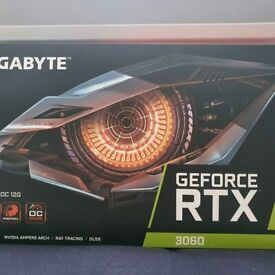 BRAND NEW GIGABYTE RTX 3060 12GB