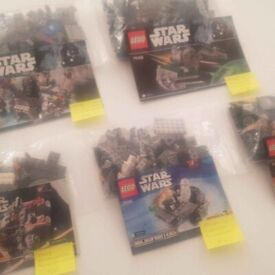 Retired Starwars Lego (prices in description)