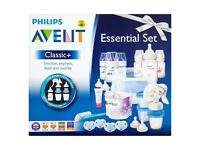 Brand new collection of baby essentials , which includes breast pump