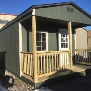 12x28 Woodtex Lancaster Shed
