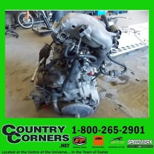 USED 2012 F1100 ENGINE WITH TURBO, HAS 8171 MILES ON THE ENGINE