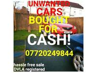 CARS WANTED CASH PAID