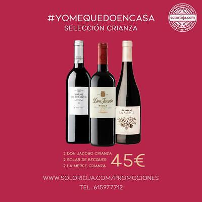 Crianza Selección Vinos de Rioja, 6 botellas, Oferta!
