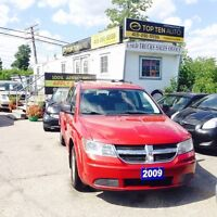 2009 Dodge Journey CERTIFIED 7 passenger Ice cold A/C Auto loade