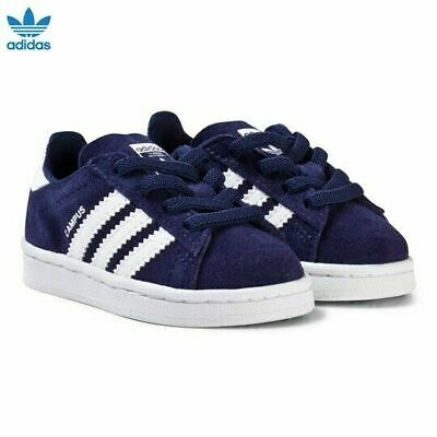 ADIDAS ORIGINALS BOYS INFANTS CAMPUS TRAINERS ALL SIZES FROM UK 10 TO UK 1 £42