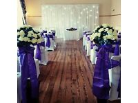CHAIR COVER HIRE WIRRAL LIVERPOOL MERSEYSIDE CHESTER