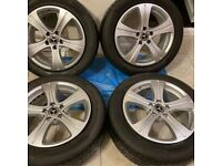 4x ALLOY WHEELS MERCEDES 17""