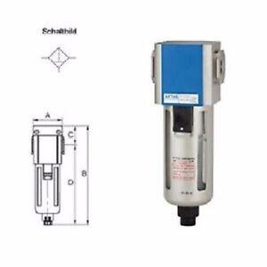 Filtri per aria compressa G 1/2 Pollici con Contenitore-policarbonato Serie G  eBay