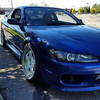 1999 Nissan Silvia S15 with Rb25