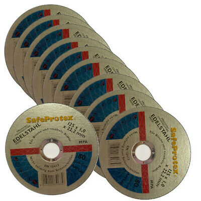 Diewe Disco de Corte Safe Protex Ø 125 X 1MM para Acero...