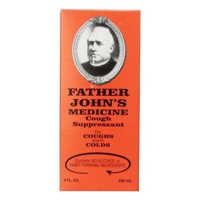Father Johns Medicine   Cough Suppressant  8 Fl  Oz