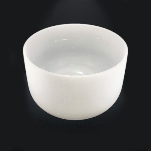 Highest Quality 18 inch G Note Throat Chakra Frosted Quartz Crystal Singing Bowl