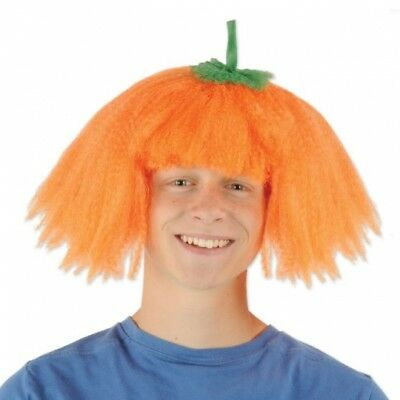 Pumpkin Wig Autumn Halloween Costume Prop Party - Halloween Costume Party Decorations