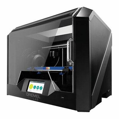 Dremel DigiLab 3D45 3D Printer, Enclosed 0.4mm Single Extrusion, w/ PLA/PETG/Eco