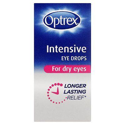 OPTREX INTENSIVE EYE DROPS FOR DRY EYES - 10ML *