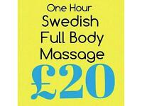 The Therapy Room massage from £20