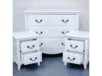 Brand New French Set Includes 2X Bedside Drawer & 1X 3 Drawer Chest Amazing Set For £250 Only