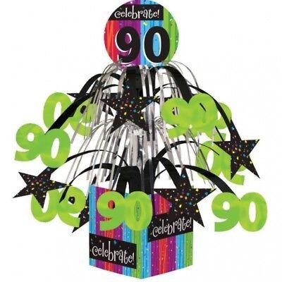 Milestone Celebration 90th Birthday Mini Cascade Centerpiece Party Decoration - 90th Birthday Party