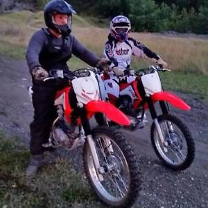 2015 crf230f and 2015 crf150f