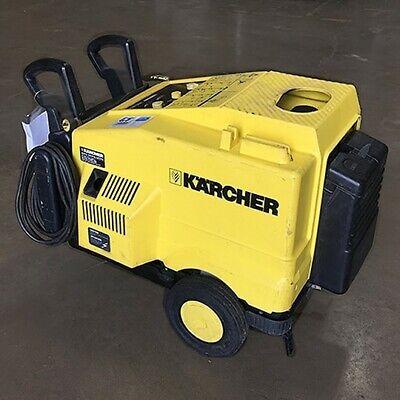 Used Karcher Hd600ci 120diesel 2.2gpm1300psi Hot Pressure Washer Steamer