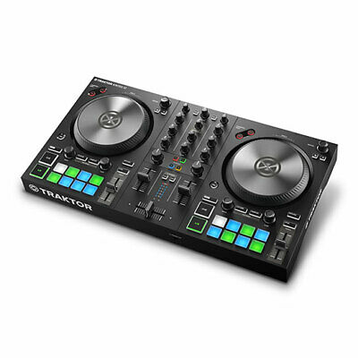 Native Instruments Traktor Kontrol S2 MK3 2-Channel DJ Controller with Audio Int