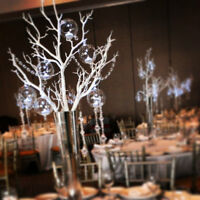 Crystal Tree Centerpieces Rentals-