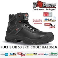 Upower Scarpe Lavoro Antinfortunistica Fuchs Uk S3 Src U-power Ua10614 - - fuchs - ebay.it
