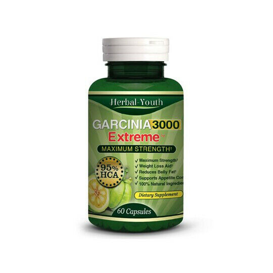 GARCINIA EXTREME 3000 FOR WEIGHT LOSS 60 PILLS