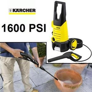 NEW KARCHER K2.360 PRESSURE WASHER - 107536365 - 1600 PSI - PRESSURE WASHERS PORTABLE MOBILE POWER HAND TOOL ELECTRIC...