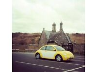 VW Beetle Sale INCLUDS BUG NUMBER PLATE 2.0L petrol MOTed & Taxed SENSIBLE OFFERS TAKEN