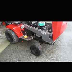 Mud mower or lawn tractor